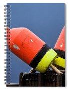 Lobster Pot Buoys Spiral Notebook