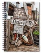 Lobster's Here Spiral Notebook