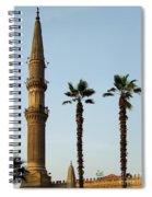 Local Cairo Mosque 02 Spiral Notebook