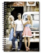 Local Country Store Pinup Spiral Notebook