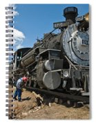 Locomotive Engineer Spiral Notebook