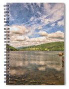 Loch Fyne Digital Painting Spiral Notebook