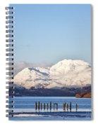 Loch Lomond 01 Spiral Notebook