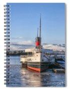 Loch Lomond Paddle Steamer Spiral Notebook