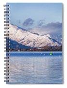 Loch Lomond Panorama Spiral Notebook