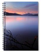 Loch Lomond Sunset Spiral Notebook