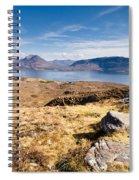Loch Torridon From Bealach Na Gaoithe Spiral Notebook