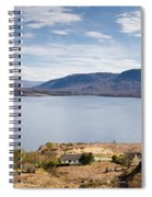 Loch Torridon Panorama Spiral Notebook