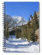 Loch Vale Winter Spiral Notebook