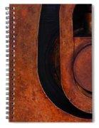 Lock Down Spiral Notebook