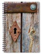 Lock Spiral Notebook