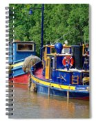Lock Tugs Spiral Notebook