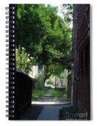 Locke Chinatown Series - Alley With Trees - 5 Spiral Notebook