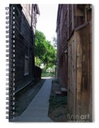 Locke Chinatown Series -  Alleyway With Trees - 4 Spiral Notebook