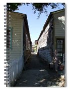 Locke Chinatown Series - Back Alley - 6 Spiral Notebook