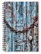 Locked And Chained Spiral Notebook