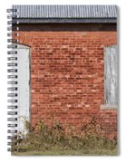 Locked And Shuttered Spiral Notebook