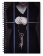 Locked-in Spiral Notebook
