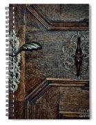 Locked Spiral Notebook