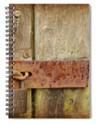 Locked Shut Spiral Notebook