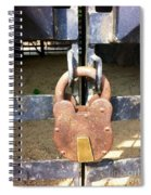 Locked Spiral Notebook