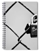 Locked Together Spiral Notebook
