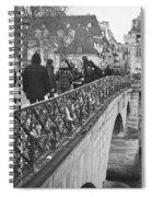 Locking Love Spiral Notebook
