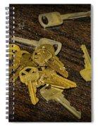 Locksmith - Rejected Keys Spiral Notebook