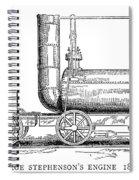 Locomotive, 1815 Spiral Notebook