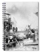 Locomotive, 1929 Spiral Notebook