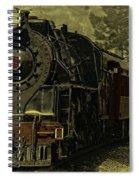 Locomotive 499  Spiral Notebook