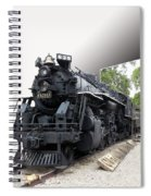 Locomotive 639 Type 2 8 2 Out Of Bounds Spiral Notebook