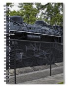 Locomotive 639 Type 2 8 2 Side View Spiral Notebook