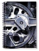 Locomotive Drive Wheels Spiral Notebook