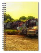 Locomotive Graveyard Spiral Notebook