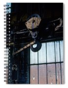 Locomotive Hook Spiral Notebook