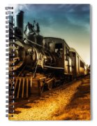 Locomotive Number 4 Spiral Notebook