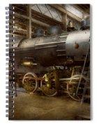 Locomotive - Repairing History Spiral Notebook