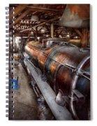 Locomotive - Routine Maintenance  Spiral Notebook