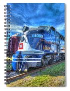 Locomotive Wabash E8 No 1009 Spiral Notebook