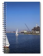 Locust Pt Sailing Spiral Notebook