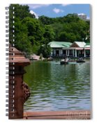 Loeb Boathouse Central Park Spiral Notebook