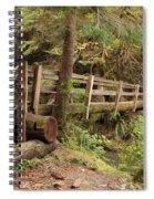 Log Bridge In The Rainforest Spiral Notebook