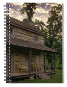 Log House Dusk Spiral Notebook