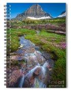 Logan Pass Creek Spiral Notebook