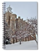 Logan Temple Winter Spiral Notebook