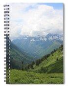 Logan Pass Before The Storm Spiral Notebook