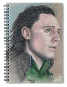 Loki From The Avengers Spiral Notebook