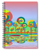Lollypop Island Spiral Notebook