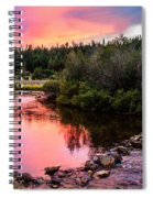 Lolo Hot Springs Creek Spiral Notebook